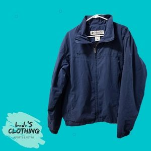 Columbia Jacket L Men's Navy Blue